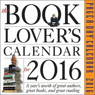 The Book Lovers Desk Calendar