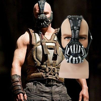 Dark Knight Rises Bane Mask Halloween Fancy Dress Stag Hen Freshers Cosplay