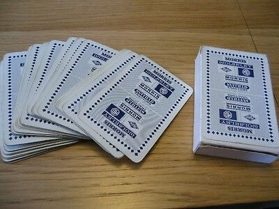 Mg Wolseley Riley Morris Nuffield Tractors  Original Boxed  Pack Playing Cards