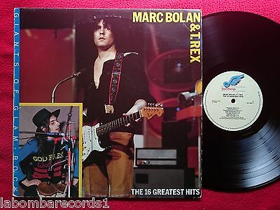 MARC BOLAN & T. REX the 16 greatest hits LP 1989 soundwings ITALY (VG++/VG++) O