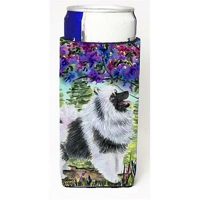 Carolines Treasures SS8063MUK Keeshond Michelob Ultra s For Slim Cans 12 oz.