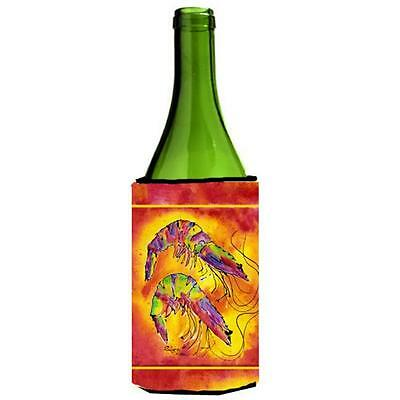 Carolines Treasures 8378LITERK Shrimp Wine bottle sleeve Hugger