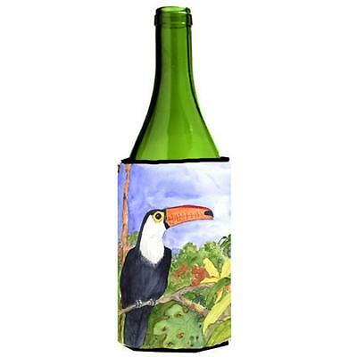 Carolines Treasures KR9003LITERK Bird Toucan Wine Bottle Hugger 24 oz.
