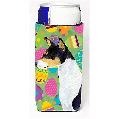 Basenji Easter Eggtravaganza Michelob Ultra bottle sleeves For Slim Cans 12 Oz.
