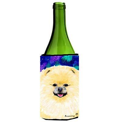 Carolines Treasures SS8997LITERK Pomeranian Wine bottle sleeve Hugger