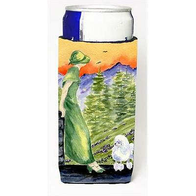 Carolines Treasures SS8618MUK Poodle Michelob Ultra bottle sleeves For Slim Cans
