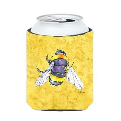 Carolines Treasures 8852CC Bee On Yellow Can Or bottle sleeve Hugger 12 oz.