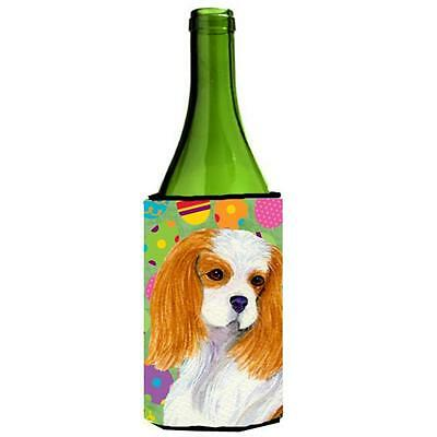 Cavalier Spaniel Easter Eggtravaganza Wine bottle sleeve Hugger 24 Oz.