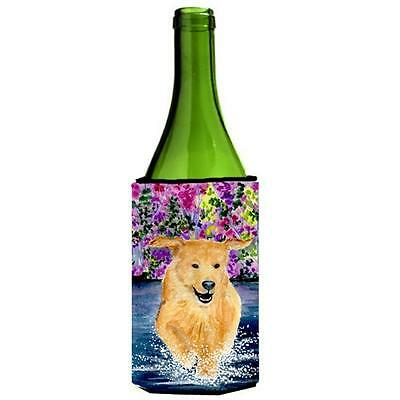 Carolines Treasures SS8627LITERK Golden Retriever Wine bottle sleeve Hugger