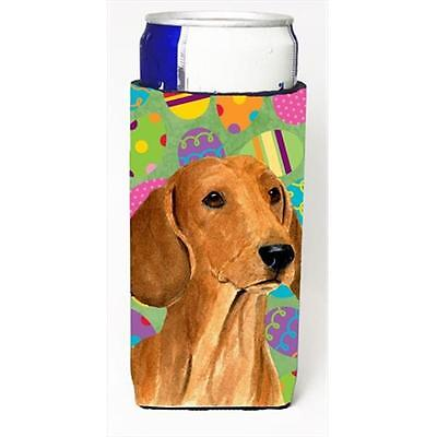 Dachshund Easter Eggtravaganza Michelob Ultra bottle sleeves For Slim Cans