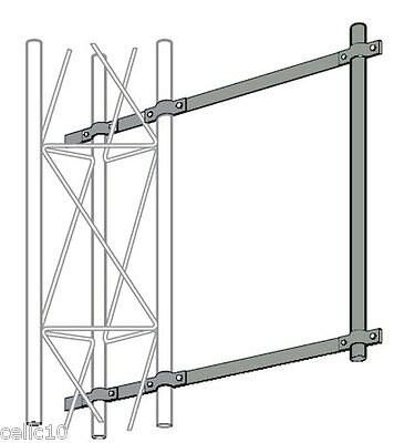 ROHN KY2068A2 Side Arm Mount Assembly for 25G Tower ( R-KY2068A2) DBS Dish Mount
