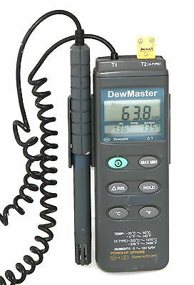 Dewmaster Thermo Hygrometer 3-Channel