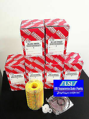 Toyota Genuine Oil Filter 04152-38020x5 Landcruiser V8