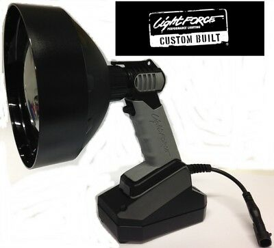 Lightforce Enforcer 170mm 70w HID 5000k Spotlight Custom Built with Cig & All Pl