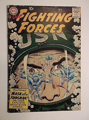 Our Fighting Forces # 35 - 1958  Vg 4.0 -  Dc War
