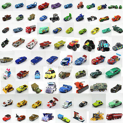 Disney Pixar Diecast Cars1 Cars 2 Frank Tractor King Sally Kid XMas Toy Gift
