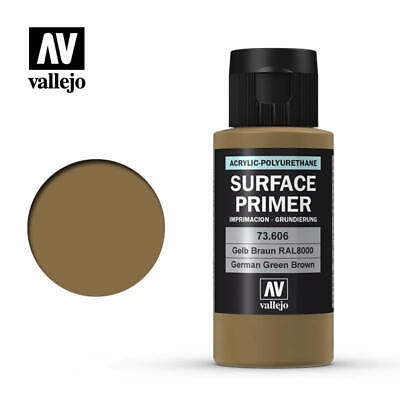 Vallejo Airbrush - Model Air - Surface Primer German Green Brown 60Ml - 73.606
