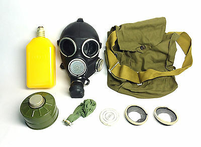 Soviet russian gas mask GP-7V gas mask MEDIUM size 2 gas mask with filter