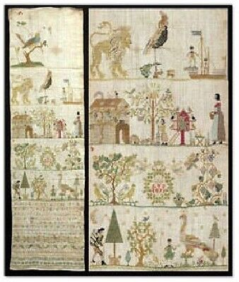 Gigi R - ATS Sampler From Saxony Cross Stitch Chart