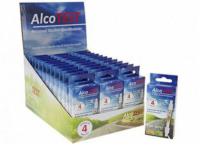 Alcotest Personal Alcohol Breathalyser Diy Kit Dont Drink Drive