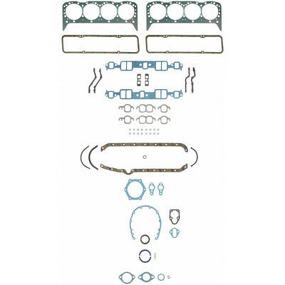 Speed Pro Engine Gasket Set 260-1000; Permatorque for 1957-79 Chevy 262-400 SBC