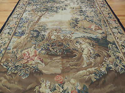 French Tapestry Oriental Area Rug/Carpet 5x7 Wall Hanging Garden, Hunting