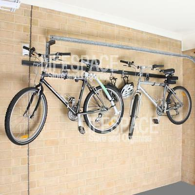 NEW Rubbermaid FastTrack Horizontal Bike Mounting Kit for Wall Storage Bicycle