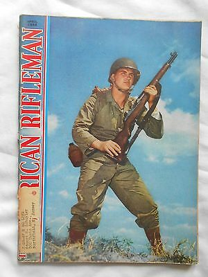 Vintage American Rifleman Magazine--April ,1948-Ww2 Soldier With Rifle On Cover