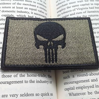 New PUNISHER SKULL SWAT OPS ARMY MILITARY TACTICAL MORALE PATCH BADGE
