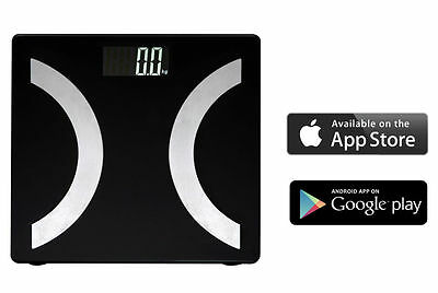 Free IOS & Android App Full Body Bluetooth Wireless Analysing Smart Scales