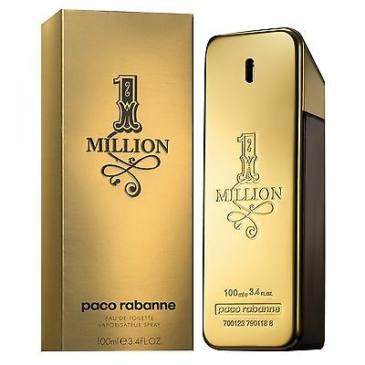 Paco Rabanne 1 Million for men Eau de Toilette EDT 100ml BNIB