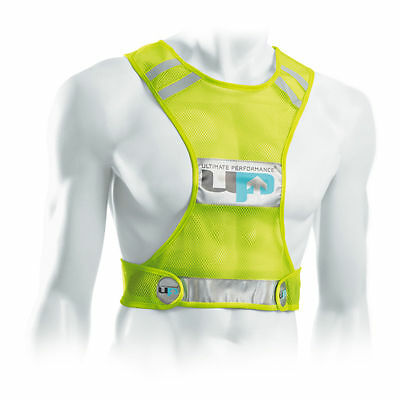 Ultimate Performance Running Race Vest High Visibility Reflective Fluorescent