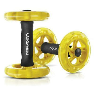 Sklz Core Wheels Pro Fitness Excercise For Strengthening Core Muscles Abs
