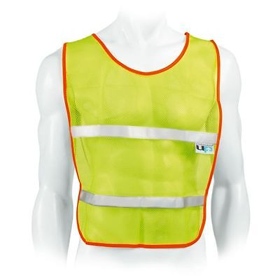 Ultimate Performance Running Mesh Vest High Visibility Reflective Fluorescent