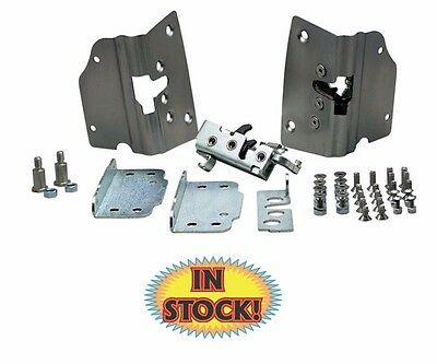 1952-54 Chevy Pickup Door Latch Kit for Stock Door Handles Trique - EL-CT5254