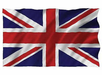 Union Jack Giant Flag 9ft x 6ft Polyester Great Britain British Brass Eyelets