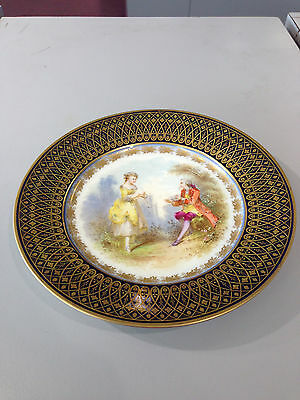 Sevres signed Chateau Des Tuileries