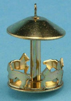Dollhouse Miniature Merry Go Round in Gold by Multi Minis
