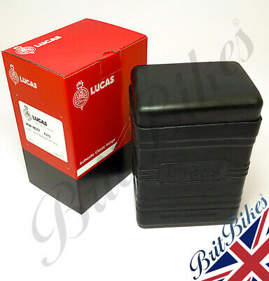 Genuine Lucas Battery Box (Large type) supplied with Black Top - PU7D