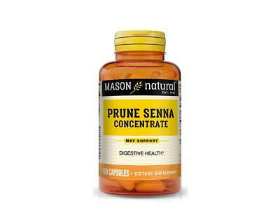 100 capsules PRUNE SENNA LAXATIVE COLON HERBAL CLEANSE NATURAL DETOX