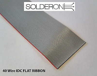 40 Wire IDC Flat Ribbon Cable - Suit Raspberry Pi, Computers, Electronics