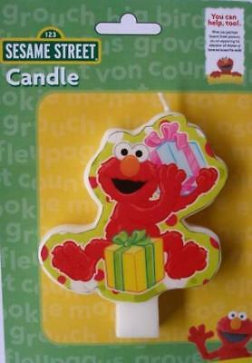 Elmo Sesame Street Birthday Party Supplies Cake Candle Topper New
