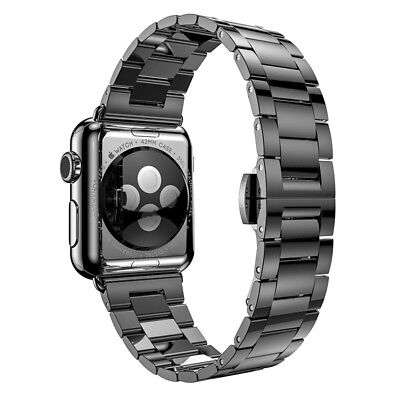 Hoco Apple Watch 38 mm Stainless Steel SlimFit Armband - Space Grey