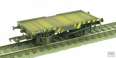 37-980V Bachmann OO Scale Shunters Running Wagon Conflat A Match Truck Weathered