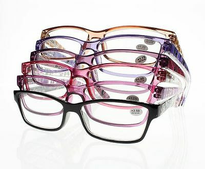 Women's Colorful Prints Spring Hinges Reading Glasses Reader +1.0 ~ +4.0 New