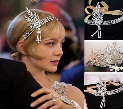Halloween 20'1920's Charleston Fancy Dresses Costume Cosplay Jewelry Accessory