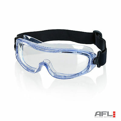 Lightweight Narrow Fit Safety Goggles - Anti Fog Lens