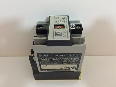 New! Square D Industrial Control Relay 8501-X020 8501X020 110/120 Volt 50/60 Hz