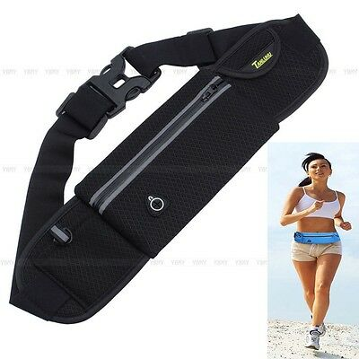 Hot Unisex Sports Jogging Running Cycling Waterproof Waist Belt Pack Bag Pouch