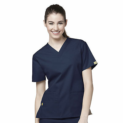 WonderWink 6016 Women's Scrubs Bravo 5 Pocket V-Neck Top